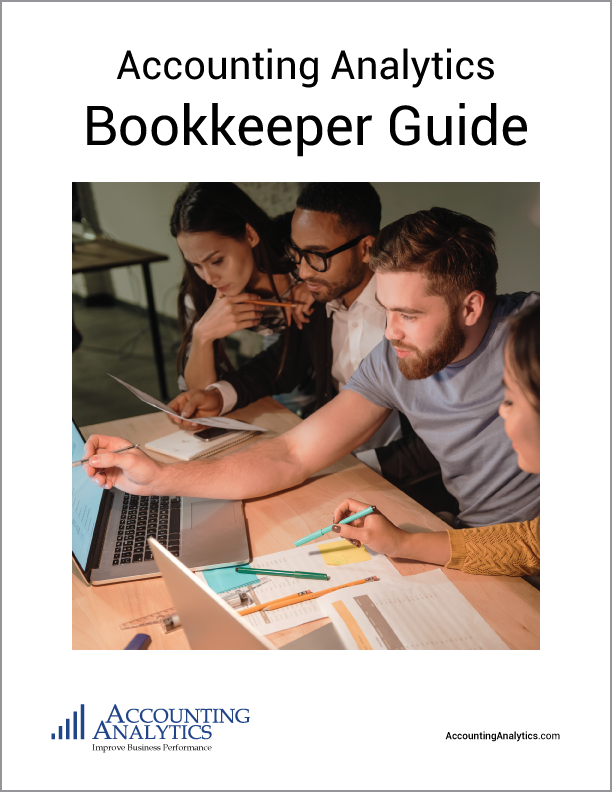Accounting Analytics Bookkeeper Guide