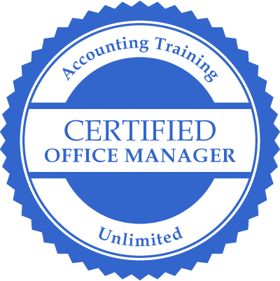 Certified Office Manager