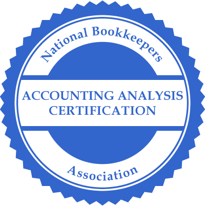 Accounting Analysis Certification
